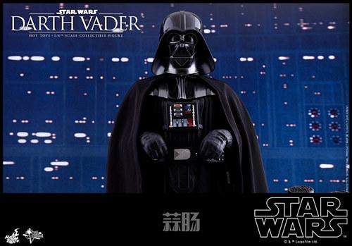 《星球大战V:帝国反击战》黑武士 1:6比例珍藏人偶 模玩 第1张