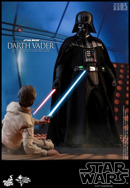 《星球大战V:帝国反击战》黑武士 1:6比例珍藏人偶 模玩 第3张