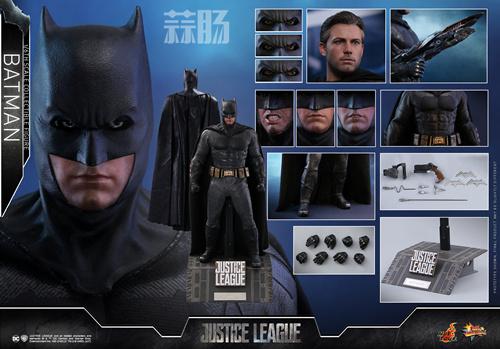 《正义联盟》蝙蝠侠1:6比例珍藏人偶 模玩 第7张