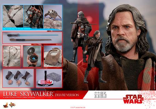 《星球大战: 最后绝地武士》Luke Skywalker 1:6比例珍藏人偶 模玩 第9张