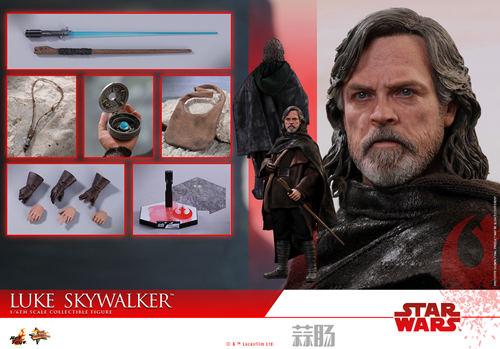 《星球大战: 最后绝地武士》Luke Skywalker 1:6比例珍藏人偶 模玩 第8张