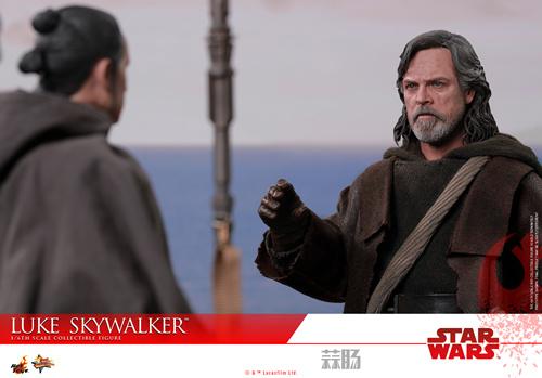 《星球大战: 最后绝地武士》Luke Skywalker 1:6比例珍藏人偶 模玩 第6张