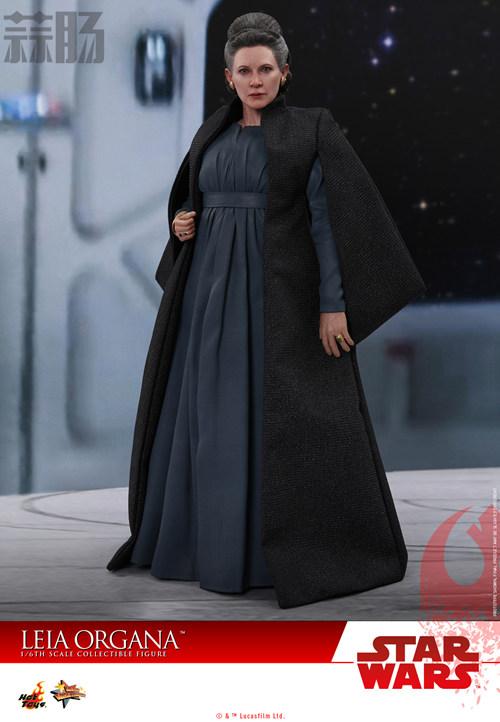 《星球大战:最后绝地武士》Leia Organa 1:6比例珍藏人偶 动漫 第1张