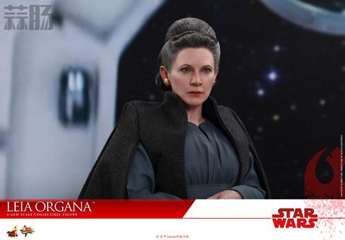 《星球大战:最后绝地武士》Leia Organa 1:6比例珍藏人偶 动漫 第6张