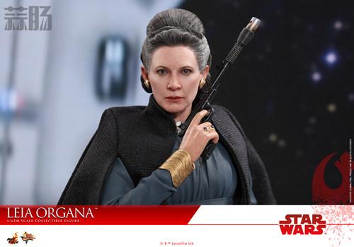 《星球大战:最后绝地武士》Leia Organa 1:6比例珍藏人偶 动漫 第7张