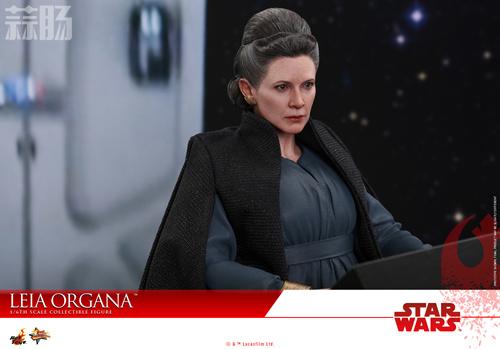 《星球大战:最后绝地武士》Leia Organa 1:6比例珍藏人偶 动漫 第8张