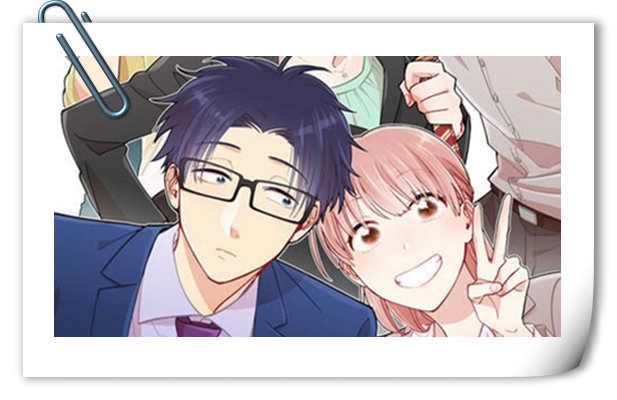 四月新番已经在路上了 《宅男腐女恋爱真难》全新视觉图公开!
