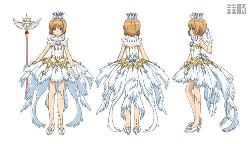 《魔卡少女樱 透明牌篇》OP 小樱服装设定图公开!网友:美炸了! 动漫 第1张