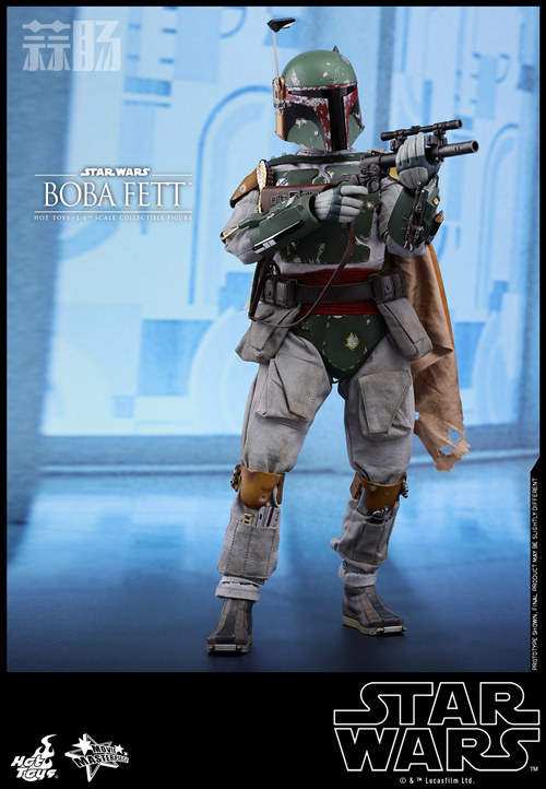 《星球大战V:帝国反击战》Boba Fett 1:6比例珍藏人偶 模玩 第3张