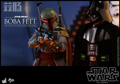 《星球大战V:帝国反击战》Boba Fett 1:6比例珍藏人偶 模玩 第5张