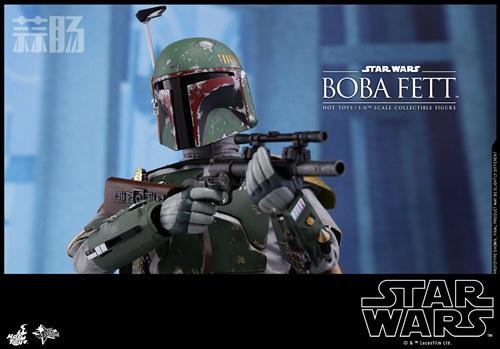 《星球大战V:帝国反击战》Boba Fett 1:6比例珍藏人偶 模玩 第7张