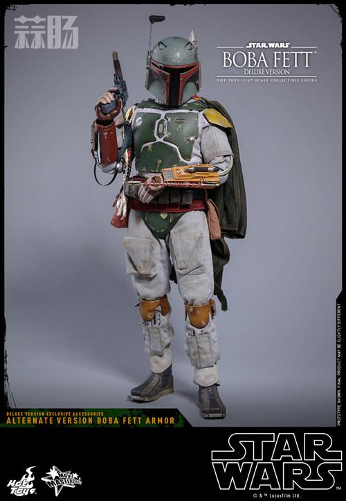 《星球大战V:帝国反击战》Boba Fett 1:6比例珍藏人偶 模玩 第8张