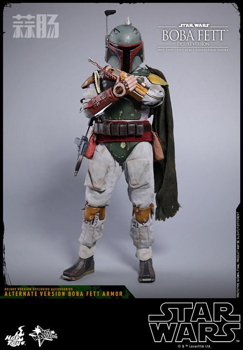 《星球大战V:帝国反击战》Boba Fett 1:6比例珍藏人偶 模玩 第9张