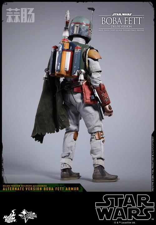 《星球大战V:帝国反击战》Boba Fett 1:6比例珍藏人偶 模玩 第11张