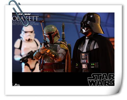 《星球大战V:帝国反击战》Boba Fett 1:6比例珍藏人偶