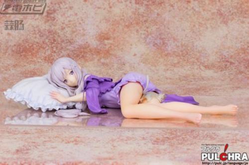 《从零》第一女主角爱蜜莉雅手办登场!这次是睡姿 模玩 第1张