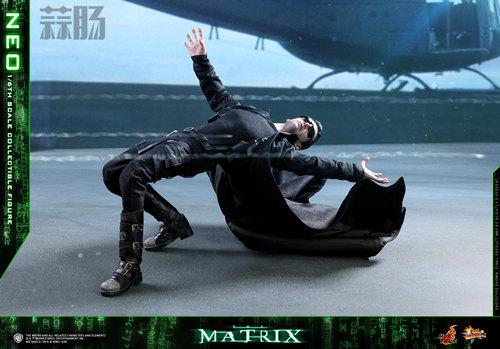 经典科幻电影《廿二世纪杀人网络》Neo 1:6比例珍藏人偶 模玩 第8张
