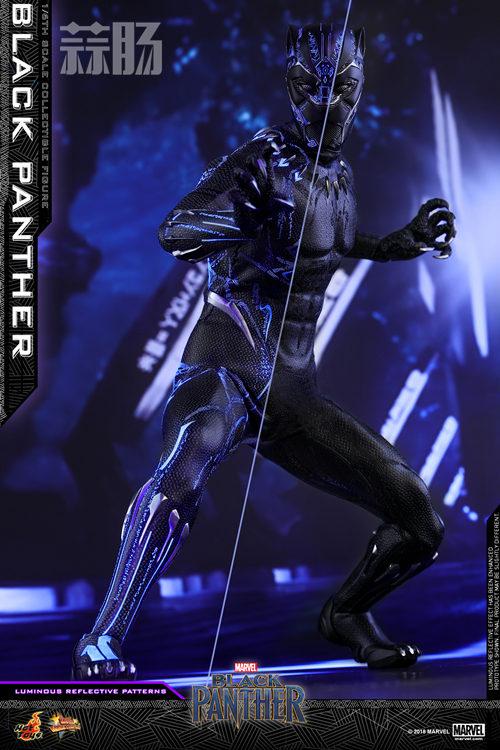 Hot Toys 推出MARVEL 超级英雄角色《黑豹》黑豹1:6比例珍藏 模玩 第4张