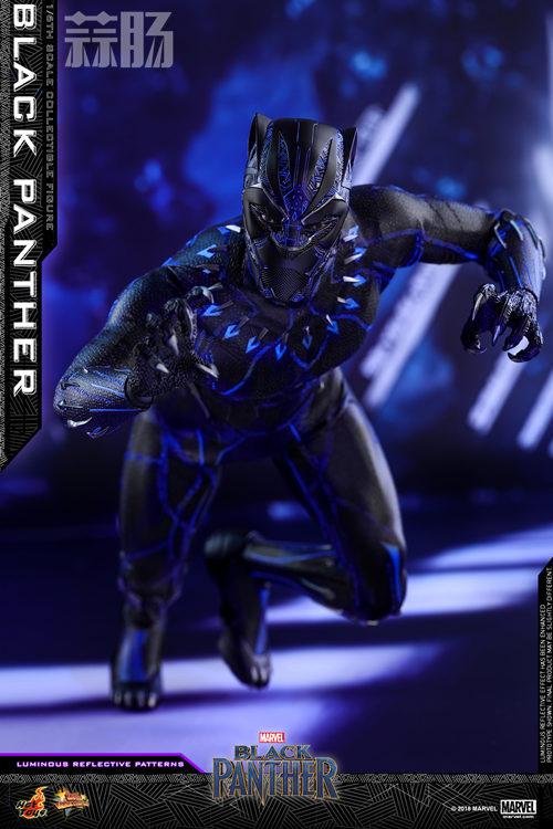 Hot Toys 推出MARVEL 超级英雄角色《黑豹》黑豹1:6比例珍藏 模玩 第5张