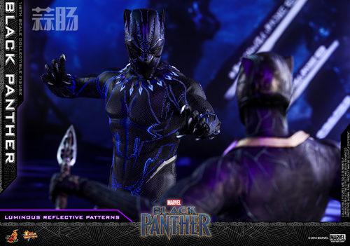 Hot Toys 推出MARVEL 超级英雄角色《黑豹》黑豹1:6比例珍藏 模玩 第7张
