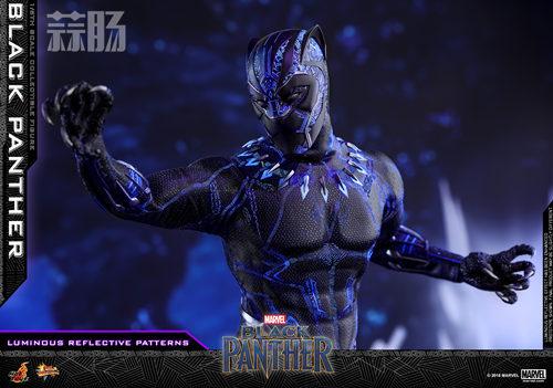 Hot Toys 推出MARVEL 超级英雄角色《黑豹》黑豹1:6比例珍藏 模玩 第6张