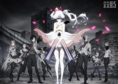 虚拟世界中的战斗 TV动画《Caligula》PV公开 4月开播! 动漫 第1张