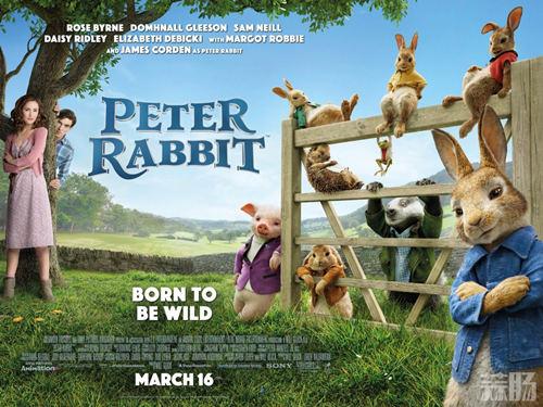 怎么可以欺负兔兔?电影《比得兔》新片段公开 3月初上映! 动漫 第1张
