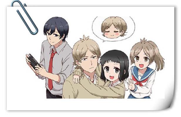 竟然是泡面番?TV动画《敦君与女朋友》4月9日开播!