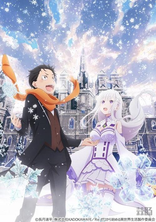 爱蜜莉雅美如画!《Re:从零开始的异世界生活》新作OVA视觉图公开! 动漫 第1张