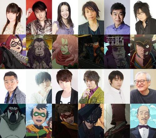 日本版蝙蝠侠追加声优了 小野大辅,梶裕贵均在列 动漫 第2张