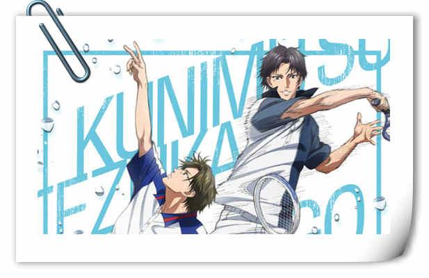 手冢VS迹部!《网球王子》新OVA视觉图公开!