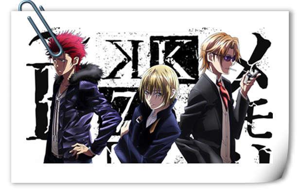 原创动画《K》即将回归 全新剧场版第4 、5部 主视觉图公开!