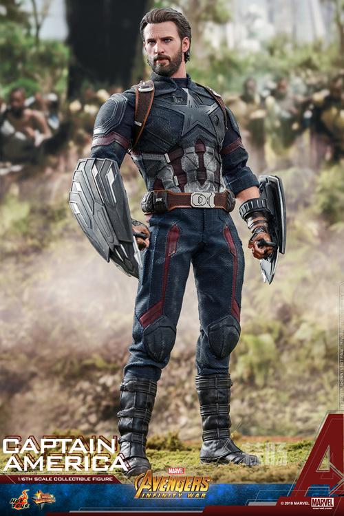 Hot Toys抢先电影《复仇者联盟3》上映前公布 美国队长1:6比例珍藏人偶 模玩 第8张