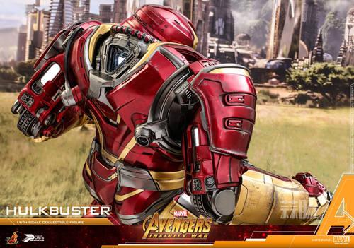 Hot Toys《复仇者联盟3: 无限战争》反浩克装甲1:6比例半可动珍藏人偶 模玩 第2张