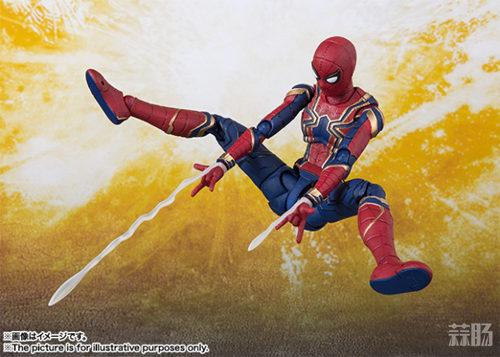 万代 SHF《复仇者联盟3 无限战争》 蜘蛛侠 官图更新  动漫 第5张