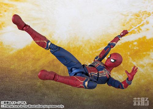 万代 SHF《复仇者联盟3 无限战争》 蜘蛛侠 官图更新  动漫 第3张