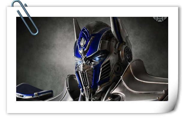 Concept Zones《变形金刚5:最后的骑士》 擎天柱雕像官图更新!