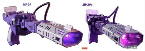 变形金刚 震荡波MP29+各种版本设定对比图 模玩 第1张