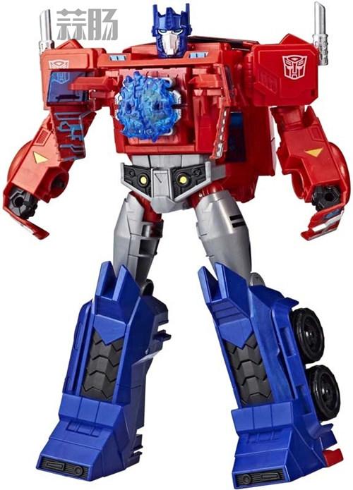 孩之宝《Transformers Cyberverse》U级威震天和擎天柱设定图公开 变形金刚动态 第3张