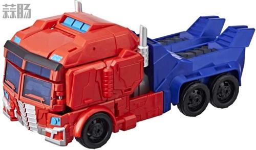 孩之宝《Transformers Cyberverse》U级威震天和擎天柱设定图公开 变形金刚动态 第4张