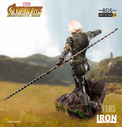 Iron Studios 1/10《复联3:无限战争》黑寡妇雕像官图来袭! 模玩 第1张