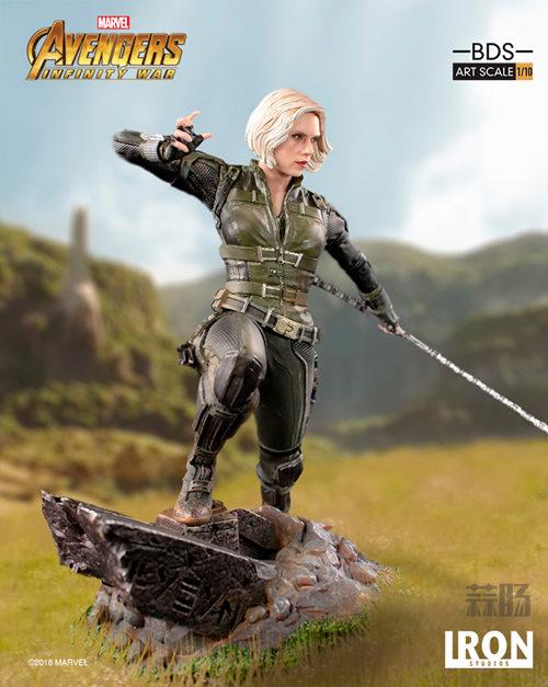Iron Studios 1/10《复联3:无限战争》黑寡妇雕像官图来袭! 模玩 第3张