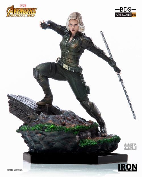 Iron Studios 1/10《复联3:无限战争》黑寡妇雕像官图来袭! 模玩 第5张
