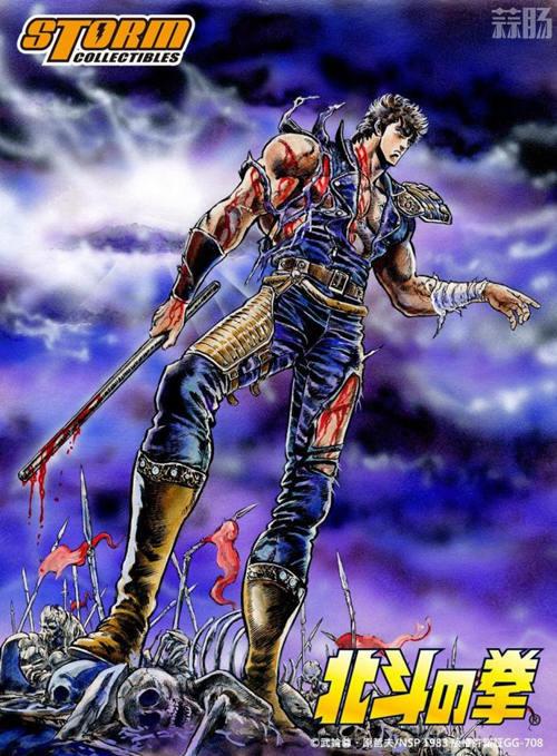 Storm Collectibles 获北斗神拳游戏人物版权! 模玩