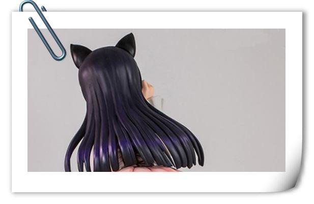 先给个背影体会一下 《俺妹》黑猫 五更琉璃等身手办即将发售!