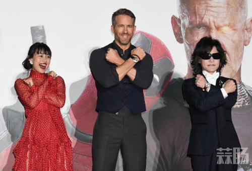 《死侍2》日本首映礼 各种cosplay了解一下 Cosplay 第4张