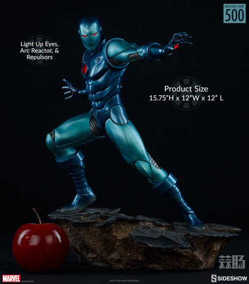 Sideshow 新品:1/5 漫画版《复仇者联盟》钢铁侠 隐身衣形态登场! 模玩 第1张