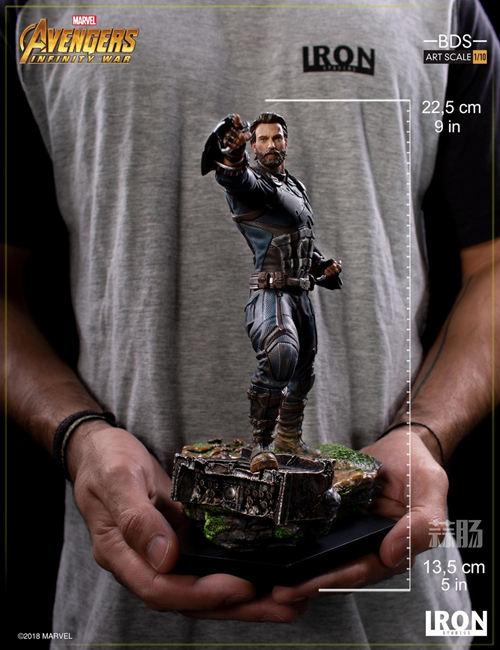 Iron Studios 1/10《复联3:无限战争》美国队长雕像来袭! 模玩 第6张