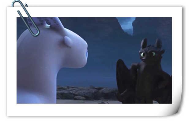 《驯龙高手3》全新海报&预告公开!无牙仔是这样表达爱意的?