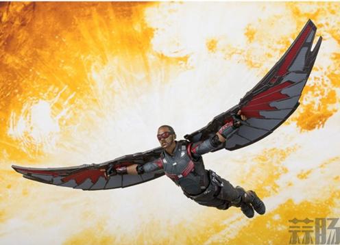 S.H.F 公开《复仇者联盟3》猎鹰 官图 模玩 第2张